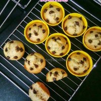 Banana chocolate chip muffins/ How to make eggless banana choco chip muffins / Easy muffins recipe