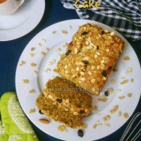 Muesli banana cake /How to make eggless muesli banana cake/ Muesli banana loaf cake