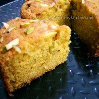 Mawa pistachios cake recipe/ Eggless mawa cake recipe/ Eggless pistachios cake recipe