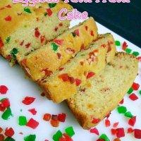 Eggless Tutti Frutti Cake / How to make easy tutti frutti cake