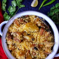 Pork biryani recipe / How to make easy pork biryani