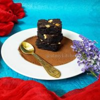 Rajma Brownies Recipe / Kidney Beans Brownies Recipe / Gluten Free Brownies Recipe