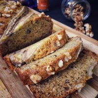 Whole Wheat Banana Walnut Cake Recipe /Banana Walnut Cake Recipe/ Easy Banana Cake Recipe