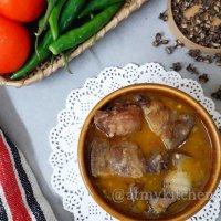 Smoked Pork Curry Recipe/ Naga Style Smoked Pork Curry Recipe/ Traditional And Authentic Naga Smoked Pork Curry