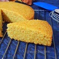 Semolina Carrot Cake / Eggless Sooji Carrot Cake