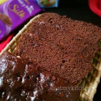 Eggless Banana Chocolate Cake / Easy Chocolate Banana Cake