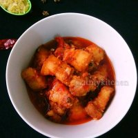 Naga Pork Curry / Naga Style Pork / Naga Pork Recipe