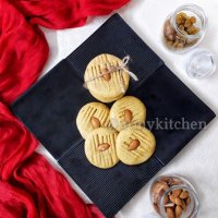 Sattu Oats Cookies / Eggless Oats Cookies / Sattu Cookies