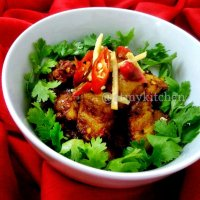 Hot And Spicy Pork / Spicy Masala Pork / Indian Spiced Dry Pork