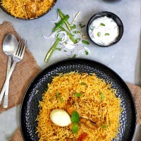 Chicken Biryani / Easy Chicken Biryani / Chicken Dum Biryani