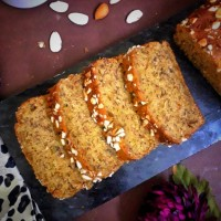 Whole Wheat Banana Nut Bread / Banana Nut Bread / Banana Nut Loaf Cake