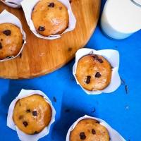 Chocolate Chunk Muffins / Vanilla Chocolate Muffins